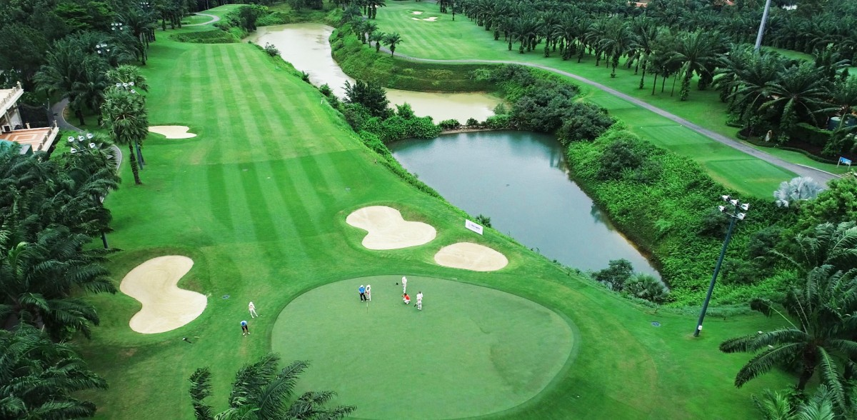 san golf tại bien hoa new city
